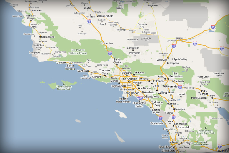 Map Of California Hospitals.Areas We Serve Medgas1 Inc Medical Gas Vacuum System Sales